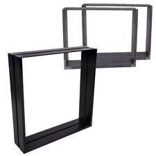 2 x Table/Bench Legs Designer Metal Steel Industrial Dining/Bench/Office/Desk