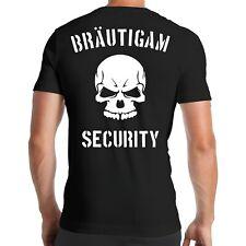 JGA Bräutigam Security T-Shirt | Junggesellenabschied | Bachelor Party