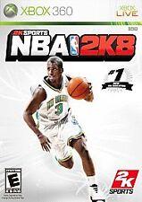 NBA 2K8 (Microsoft Xbox 360, 2007) (USED) (D.F.G)