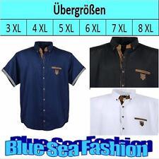 LAVECCHIA Designer Übergröße kurzarm Business Hemd Polo Shirt 3 4 5 6 7 XL XXXL