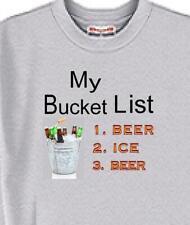 T Shirt - My Bucket List - Beer Animal Friend Men Women Adopt Cat Dog # 67