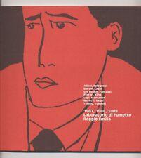 1987 1988 1989 LABORATORIO DI FUMETTO REGGIO EMILIA 1990 Tecnostampa