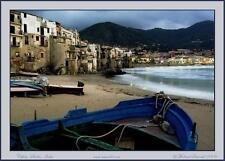 "Michael Seewald's 4x6"" (5) blank greeting art cards 'Cefalu, Sicily, Italy'"