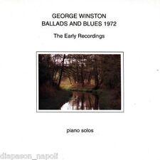 George Winston: Ballads & Blues 1972 - CD