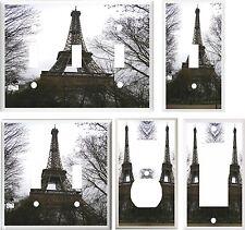 PARIS FRANCE EIFFEL TOWER #2  IMAGE  LIGHT SWITCH COVER PLATE U PICK SIZE