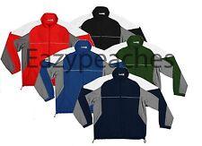 Reebok Mens Size S-2XL 3XL 4XL 5XL Wind & Water Resist Windshirt JACKET Zip Coat
