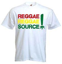 REGGAE REGGAE SOURCE T-SHIRT - Rastafarian Bob Marley Rasta Cannabis Marijuana