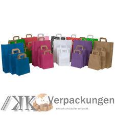 Papiertragetaschen Papiertüten Papier - Tragetaschen Tüten Taschen Beutel bunt