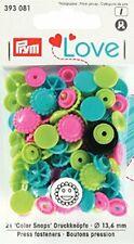 PrymLove forma di fiore Bottoni colorsnaps Chiusure a scatto, plastica, Turch...