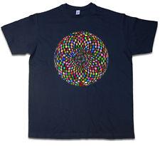 Psychedelic discoteca light t-shirt retro oldies música nerd techno luz electro