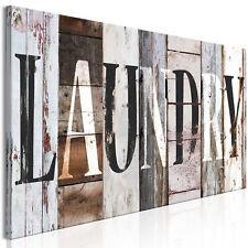 LAUNDRY Wandbilder xxl Bilder auf Vlies Leinwand Leinwandbilder m-A-0935-b-a