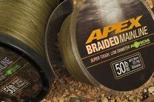Korda Apex Braided Mainline 450m - Both Breaking Stains