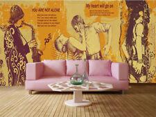 Jumping Tall Action 3D Full Wall Mural Photo Wallpaper Printing Home Kids Decor