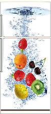 Sticker frigo déco fruits 70x170cm réf 525