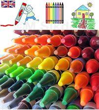 144 o 288 Surtido Lápices De Colores Clase Pack Nuevo Niños Cera De Juguete De 72 Diferentes Colores-UK