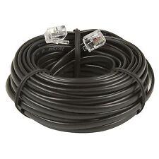 Jackson MODULAR EXTENSION LEAD Phone/Internet Cable RJ12, BLACK - 10m or 15m
