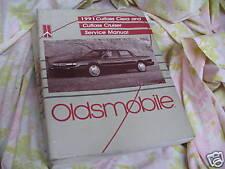 1991 OLDSMOBILE CUTLASS CIERA & CRUISER SERVICE MANUAL