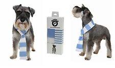 Dog scarf. Sky Blue football scarf  Man City/Coventry/Argentina/Marseille/Lazio