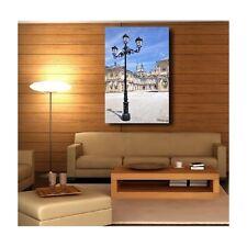 Tableaux toile déco rectangle verticale lampadaire 10482928