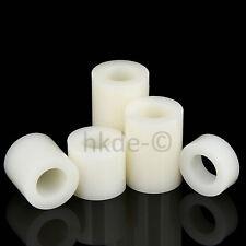 Abstandshülsen Distanzrollen Weiß Kunststoff Øa 7-14mm | Øi 5-8mm | Länge 2-25mm