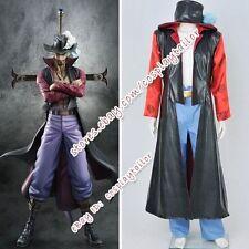 One Piece Dracule Mihawk Hawk Eyes Cosplay Costume Cos Anime Outfits Halloween