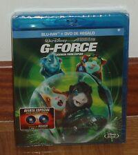 G-FORCE - LICENCIA PARA ESPIAR - COMBO BLU-RAY+DVD - NUEVO - PRECINTADO - DISNEY