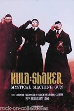 KULA SHAKER 1999 MYSTICAL MACHINE GUN UK PROMO POSTER