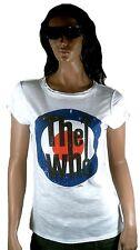 GENIAL Amplified Official The Who Logo 68 '70' Vintage Diseñador VIP Camiseta g.