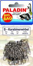 PALADIN S KARABINER-WIRBEL BIG BAG Größe 2 bis 12 NICKEL Sicherheitskarabiner