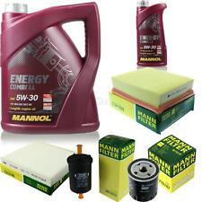 CAMBIO Olio Set 6l MANNOL ENERGY COMBI LL 5w-30 + FILTRO OLIO Uomo Service 10054019