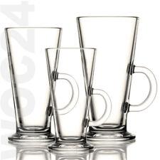 6 Latte Macchiato Kaffee Tee Gläser Glas Kaffeegläser Teegläser Griff Henkel