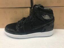 Kids Nike Air Jordan 1 Retro Hi Prem Heiress Sneakers 832596 001-Size 6