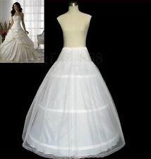 New Normal/Plus Size A-line 3 Hoop Bridal Wedding Petticoat Underskirt Crinoline
