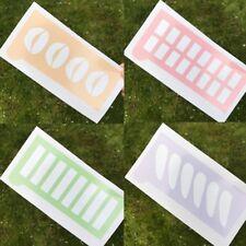 Makeup Swatch Stencil Template Sticker Eyeshadow Pigment Cosmetic Pro Blogging