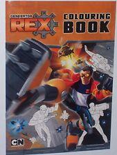 Generator Rex Colouring Book