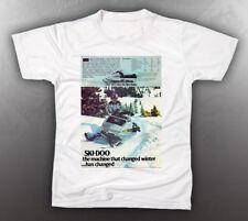 VINTAGE SKI-DOO 1973 TNT TEE-SHIRT LIKE NOS