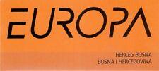 1996 Europa CEPT - Bosnia Herzegovina [Mostar] - booklet