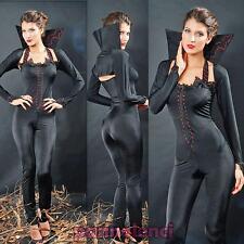 Costume vestito carnevale donna VAMPIRA NERA abito travestimento DL-633