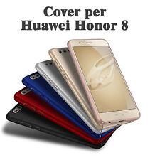 Cover case custodia per Huawei Honor 8 rigido COPERTURA Bordo + 1 pellicola