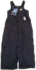 ZeroXposur Girls Winter Bib Snow Pants NWT  Sizes  4 or 5/6  Black MSRP $50.00