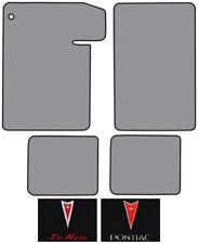 1964-1965 Pontiac LeMans Loop Carpet Logo Floor Mat 4pc