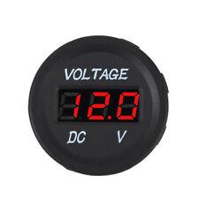 Car Voltmeter Marine Voltage Meter Battery Gauge Boat Caravans Travel Trailer