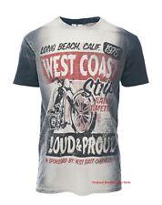"""West Coast Choppers t shirt modelo Strip """"nuevo"""" en los tamaños S-XXXL"""