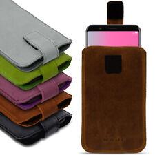 Handy Leder Hülle Honor View 10 Smartphone Tasche Pull Tab Sleeve Schutzhülle