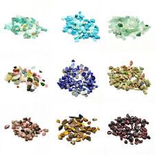 340pcs/20g No Hole Natural Semi Gemstone Beads Loose Chip Stone Crafting 2~8mm
