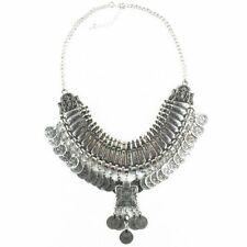Collar Coin Necklace Pendant Vintage feminine Bohemian Big Jewellery Women