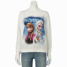Disney Frozen Elsa, Anna & Olaf Sublimated Long Sleeve Top Juniors XS - S - M- L