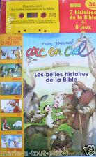 Petit livre + cassette audio 7 histoires de la bible pour les enfants + jeux