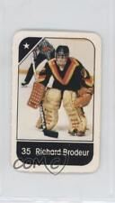1982-83 Post Cereal #35.2 Richard Brodeur Vancouver Canucks Hockey Card