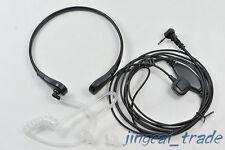 Throat Vibration Mic Acoustic Tube Earpiece for Motorola Radio 1 Pin 2.5mm